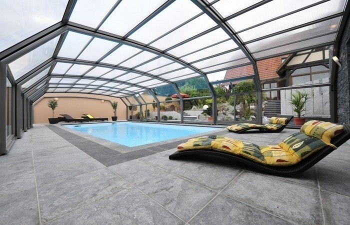 schwimmbadüberdachung die hohen schwimmbadüberdachungen verschönern jeden pool