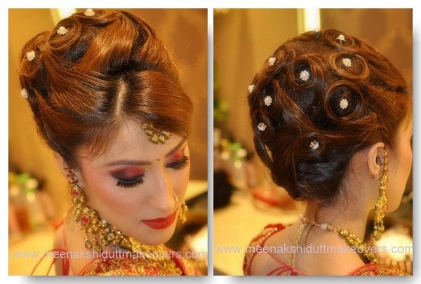 25 Bridal Hairstyles For Long Hair: 1000+ Ideas About Indian Bridal Hairstyles On Pinterest