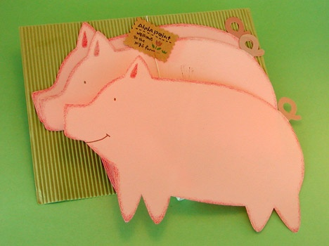 Piggy Letter Papers