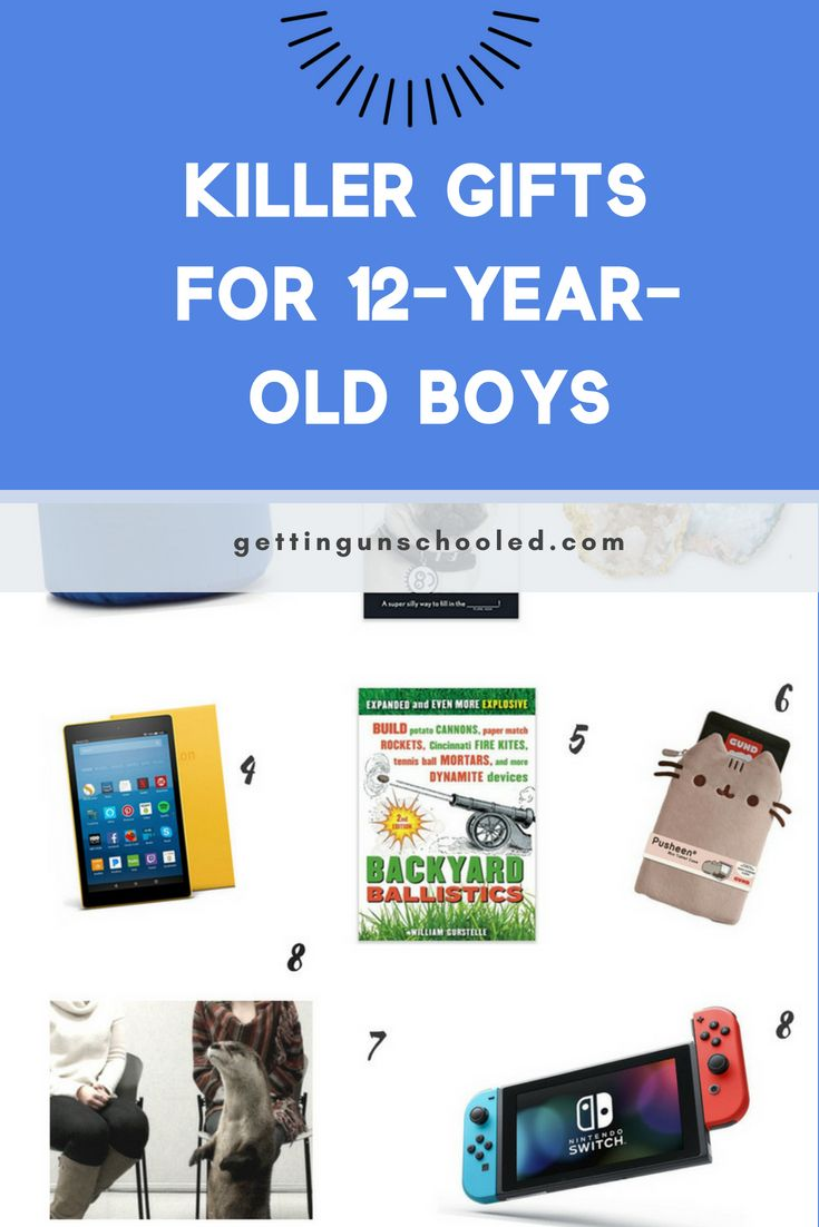 Mar 5 Gifts For A 12 Year Old Boy