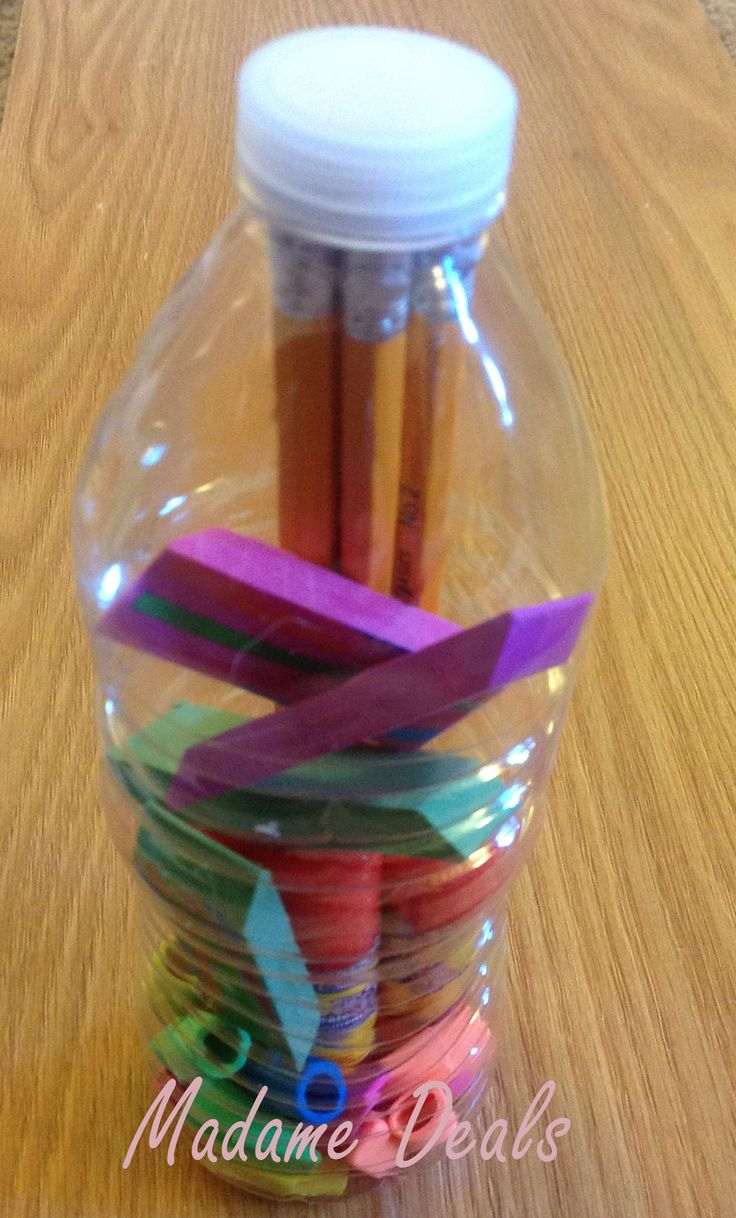 113 best images about soda bottle crafts on pinterest for Water bottle recycling ideas