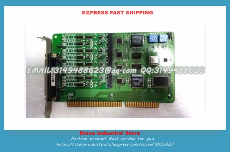 CI-134I ISA RS-422/485 industrial communication four optically isolated serial card 100% test good quality