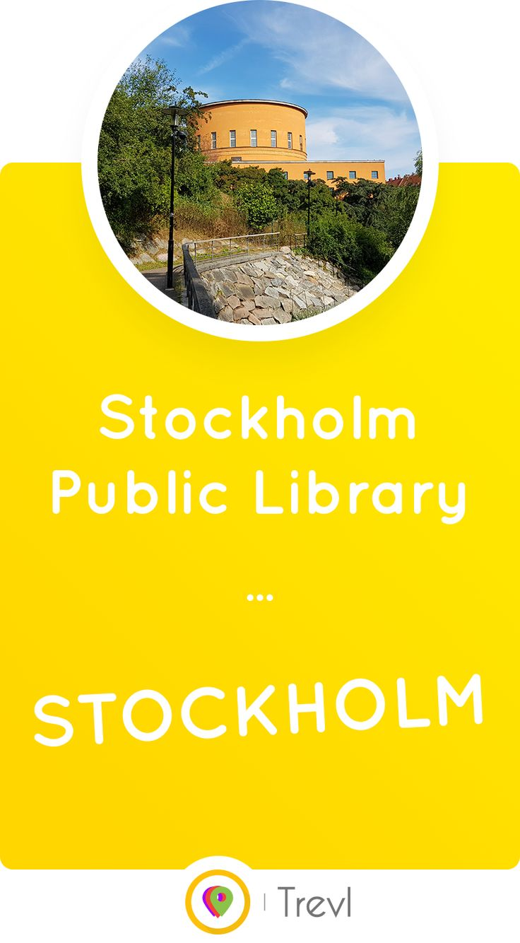 Learn about how Stockholm Public Library became the first library of its kind in Sweden.