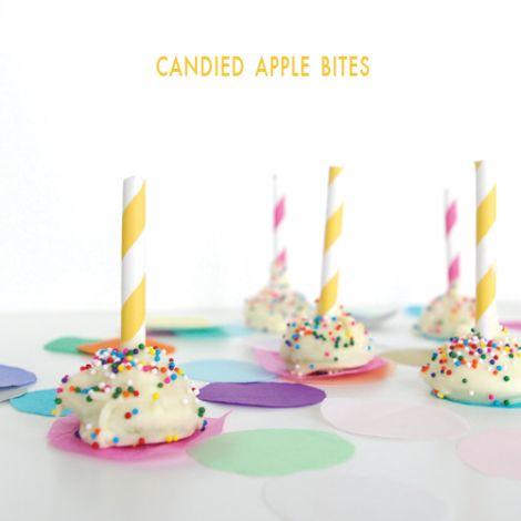 candied apple bites @Sugar & Cloth