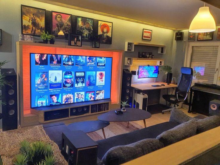 Gaming Room Setup, Computer Setup, Desk Setup, Bedroom Setup, Home Office Setup, Game Room Design, Gamer Room, My Happy Place, My Room
