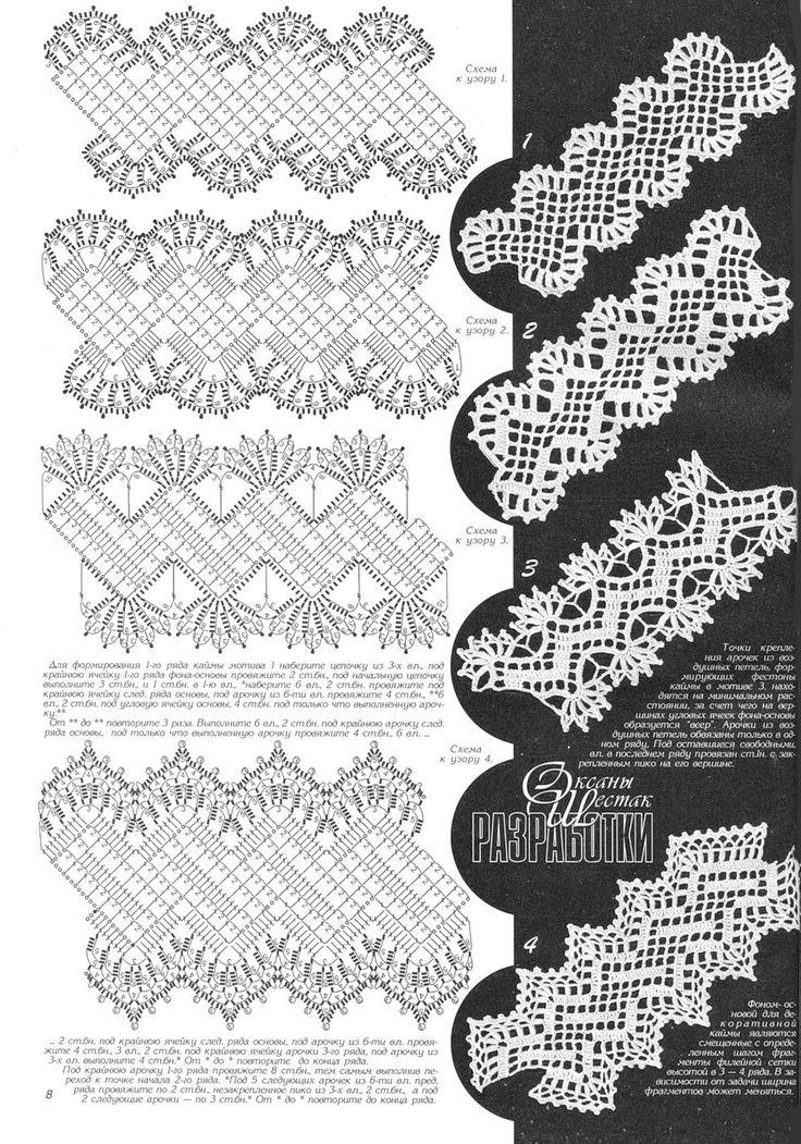 crochet edging tape
