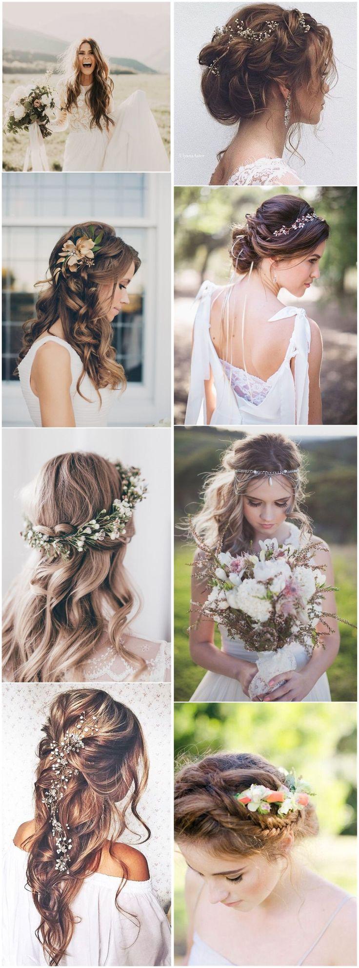 21 Inspirierende Ideen für Boho-Brautfrisuren zum Stehlen