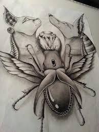 Resultado de imagem para horus tribal design