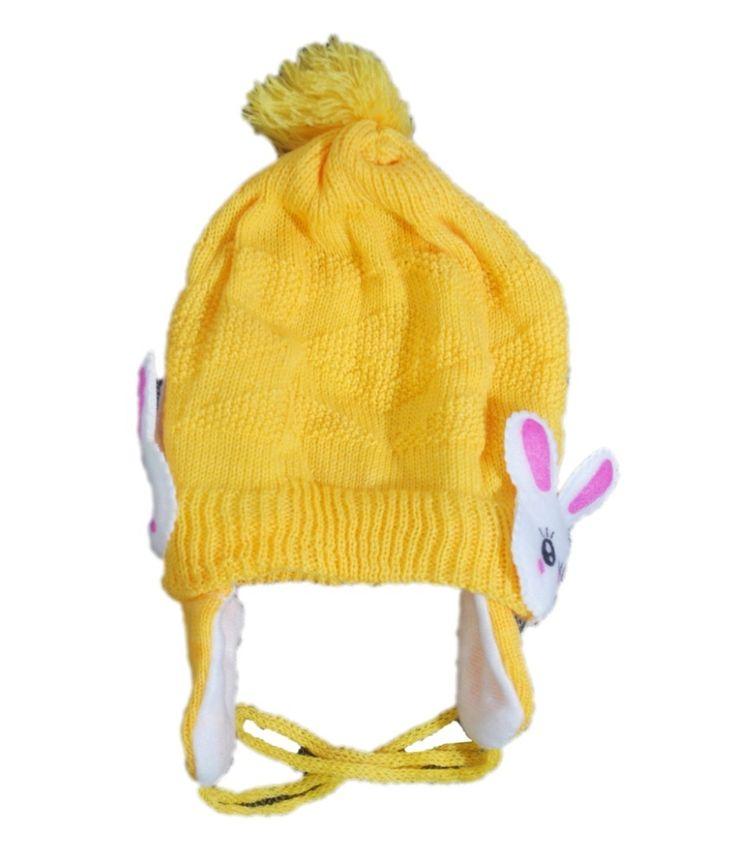Mantra Yellow Woollen Cap