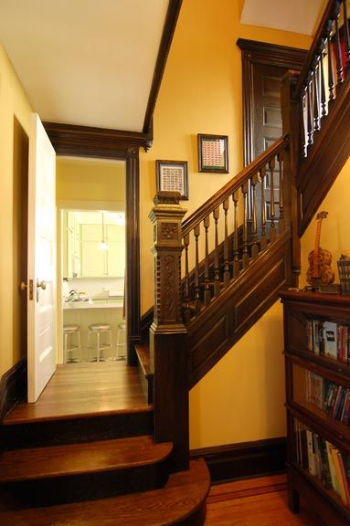 Victorian staircase by Period Style 2012, via Flickr