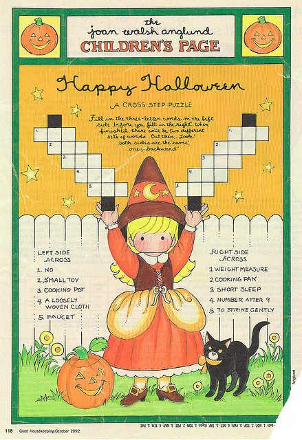 Joan Walsh Anglund Halloween