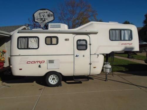 1988 19' Scamp Deluxe 5th Wheel Camper | Lincoln, NE | Fiberglass RV's For Sale