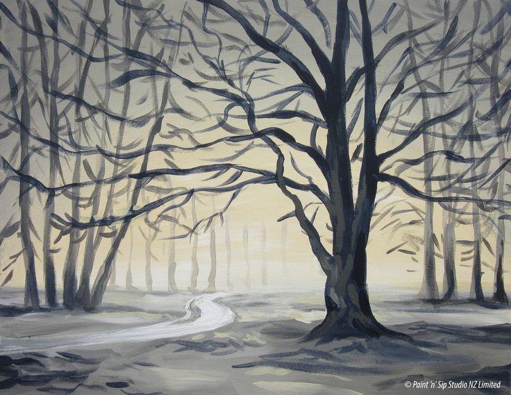 Hagley Park winter