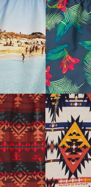 Bershka Bscene: Beachwear trends for Men #spring #summer #fashion