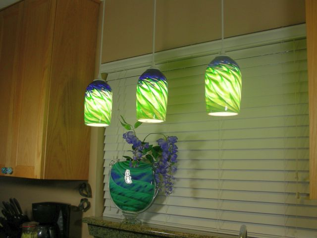 17 Best Images About Green Pendant Lights On Pinterest