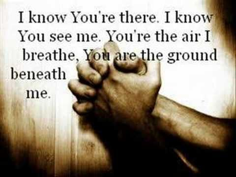I hope you like this video. It's one of my favorite songs ever. :)    *NOTICE* :) Yes...this is Casting Crowns. Another man sings it as well.  The female voice you hear is Megan Garrett-she is a background singer.    FOR FURTHER PROOF:  Go here: http://www.amazon.com/Altar-Door-Casting-Crowns/dp/B000RGUHIM/ref=sr_1_9?ie=UTF8=1320329976=8-9.  ...