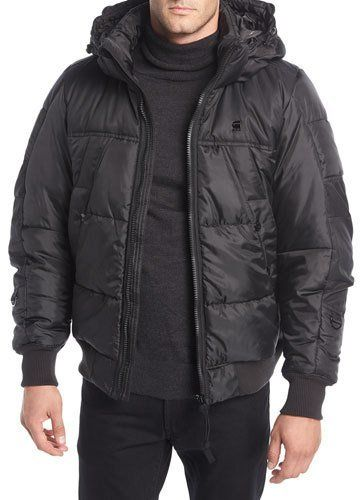 5414a47fe7 G-Star Whistler Hooded Puffer Bomber Jacket | Products | Jackets ...