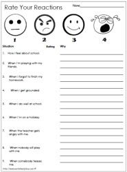 social and emotional printables alot of good worksheets to print great for tfcprinted - School Worksheets To Print