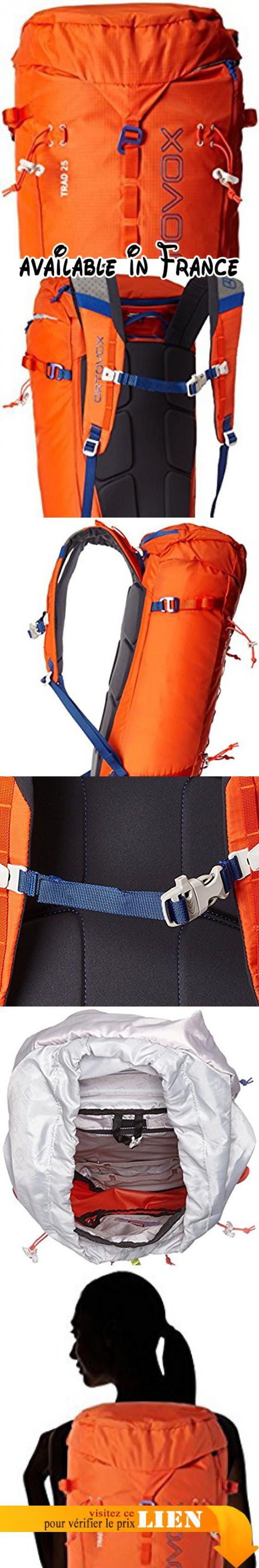 B01BMTPBFG : Ortovox Trad 25 Hiking Backpack. Back: Regular. Size: 25l. Weight: 750g