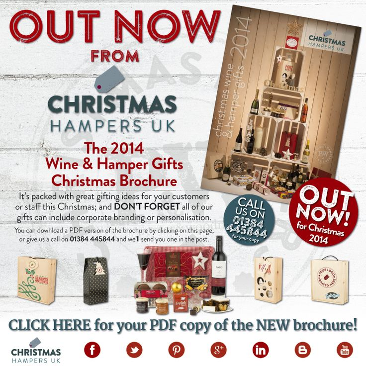 Christmas Hampers UK launches the 2014 brochure PDF download http://www.printservicespandw.co.uk/emailnews/20140904CHUK/
