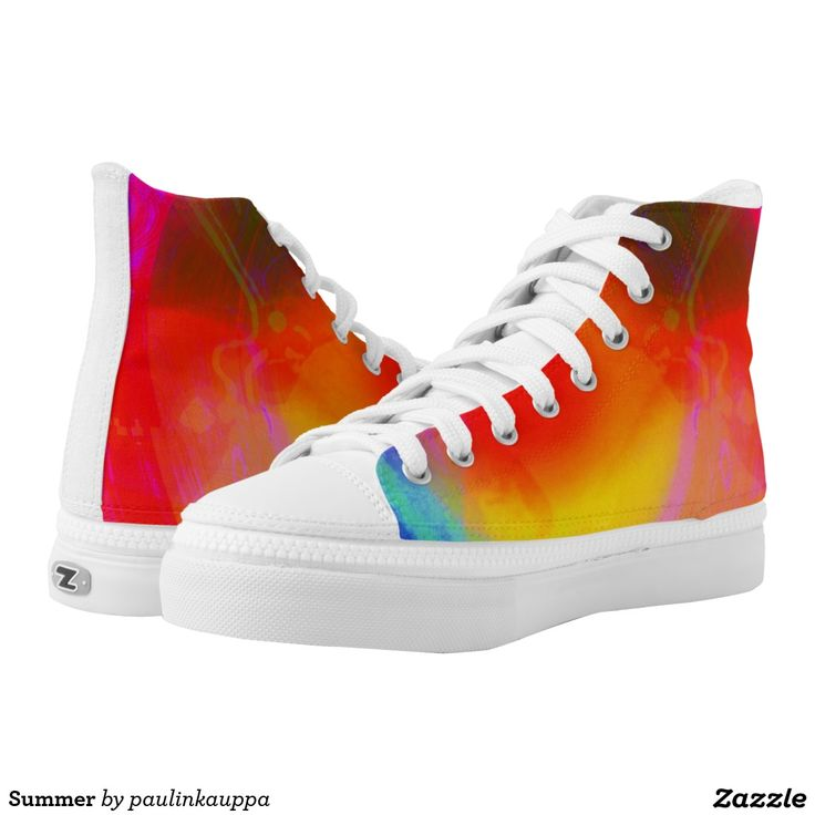 Summer Printed Shoes