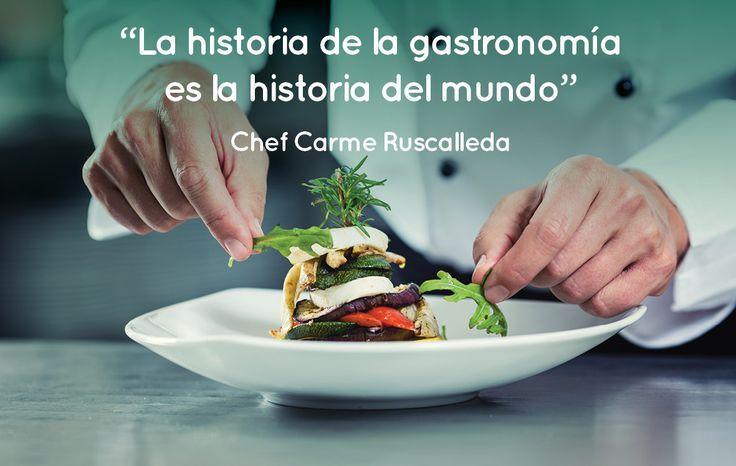 ¿Están de acuerdo? | #quotes #frases #cocina #chefs #gourmet #frases de cocina #gastronomía #historia