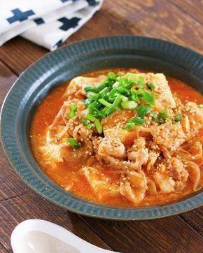 煮るだけ5分♪『豚バラ豆腐ともやしの韓国風ごま味噌スープ』 by Yuu   レシピサイト「Nadia   ナディア」プロの料理を無料で検索