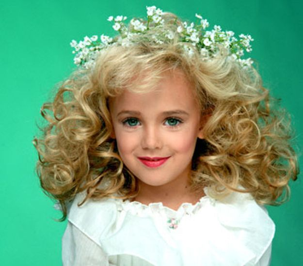 JonBenet Ramsey - Died on December 25, 1996 at age 6