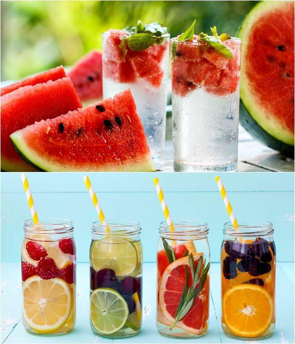 Água detox é um importante aliado para perder peso.A bebida consegue eliminar todas as toxinas nocivas ao organismo e também tem ação diurética.
