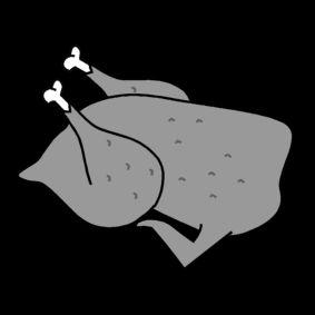 Paistettu kana (Kuva: Sclera)