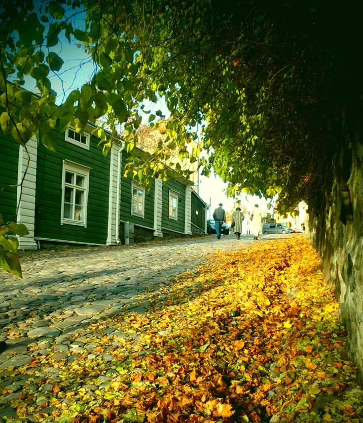 colors of Porvoo, Finland
