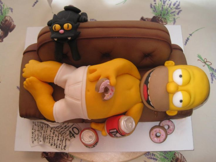 Homer Simpson by Eliska