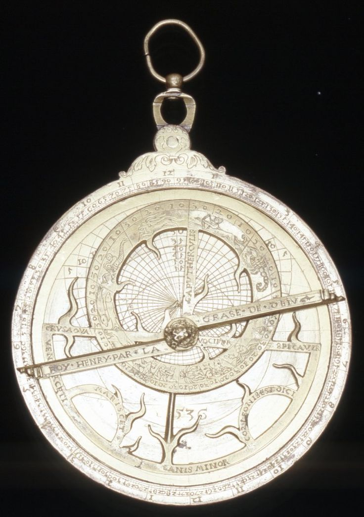 THIS IS WELL PRESERVED AND A REAL BEAUTY ~ KING HENRY VIII'S ASTROLABE / THOMAS MORE AND HENRY STUDIED THE NAVIGATION OF THE STAR'S UP ON THE ROOFTOPS.  PERHAPS THOMAS MORE HELD THIS ASTROLABE IN HIS HAND'S TOO.