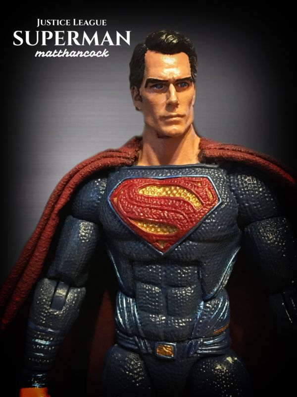 SUPERMAN Henry Cavill - Ultimate Master (One:12 Collective) Custom Action Figure
