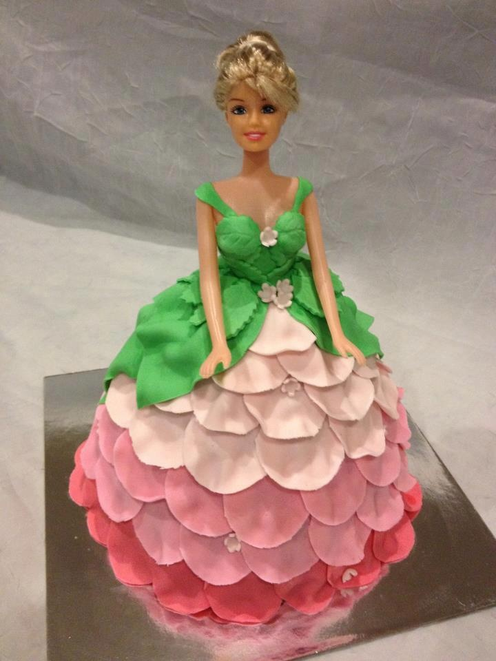 Chocolate Doll Cake