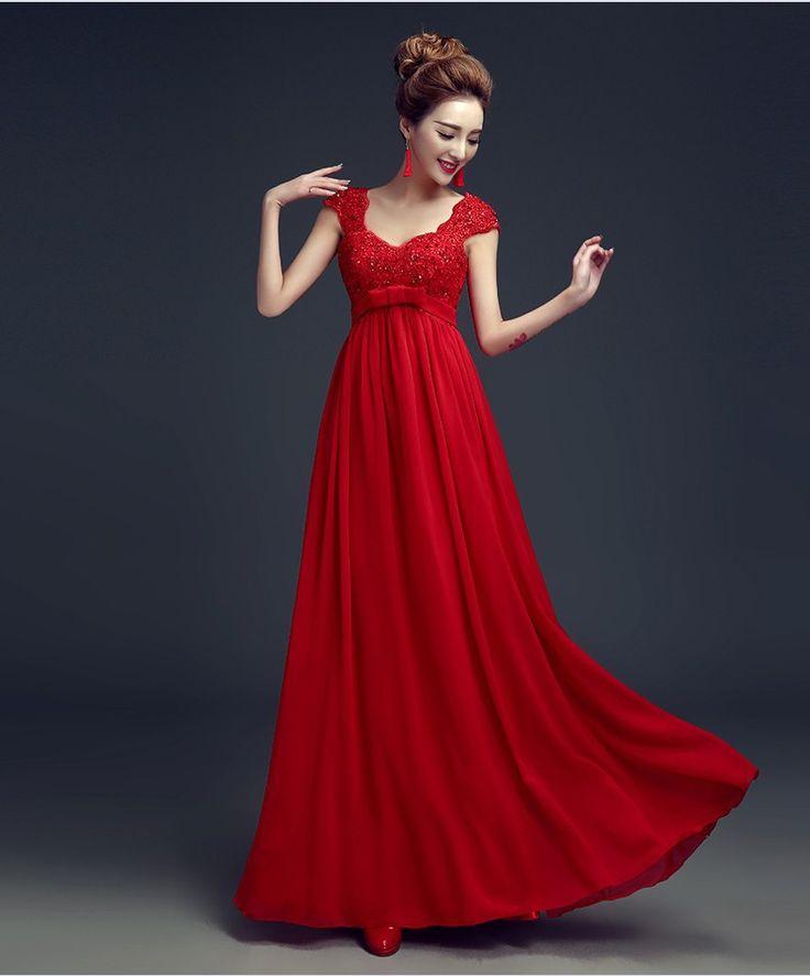 Платье красного цвета для беременных