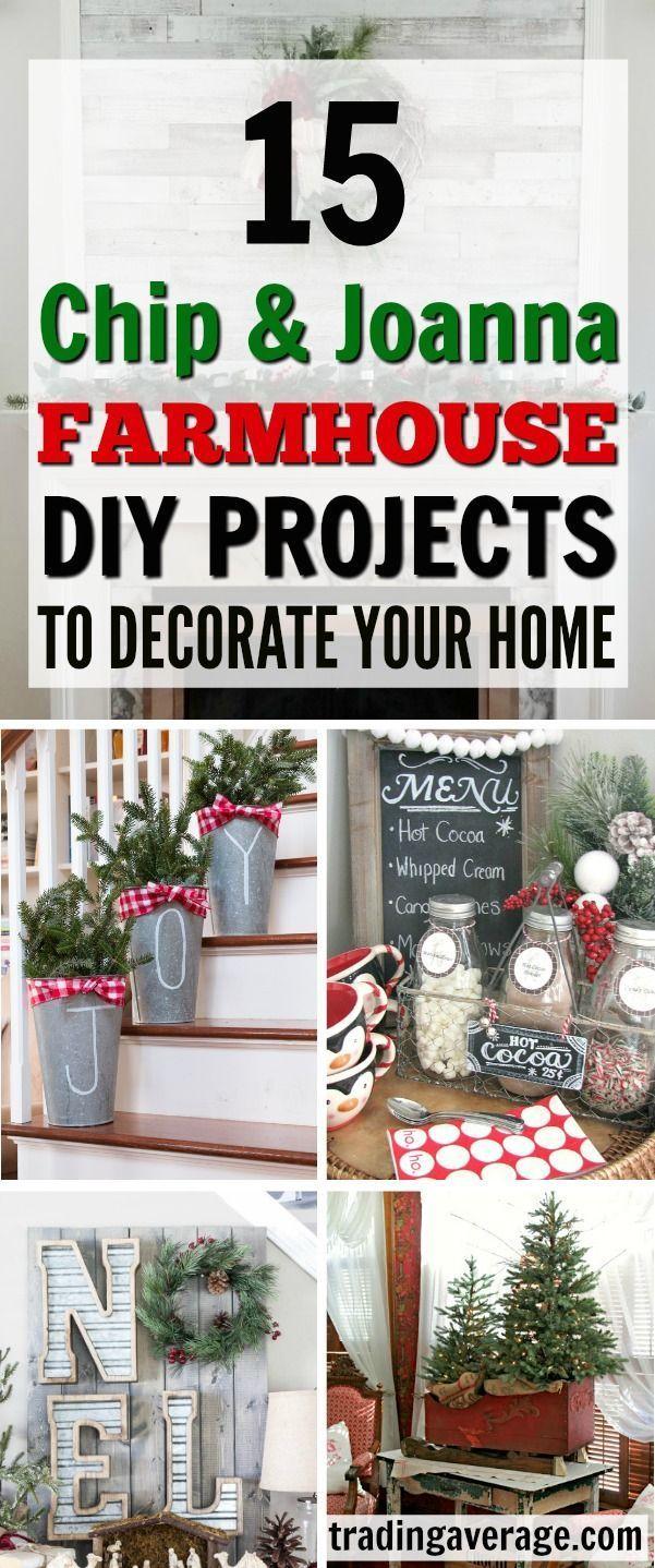 15 Weihnachten DIY Bauernhaus Dekor Ideen, die Sie versuchen müssen https://christmas.yazilim…