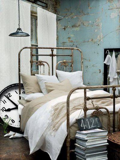 Vintage bedroom - http://myshabbychicdecor.com/vintage-bedroom-30/ - #shabby_chic #home_decor #design #ideas #wedding #living_room #bedroom #bathroom #kithcen #shabby_chic_furniture #interior interior_design #vintage #rustic_decor #white #pastel #pink