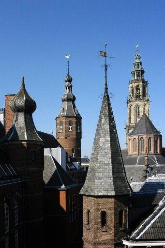 De torens van de binnenstad