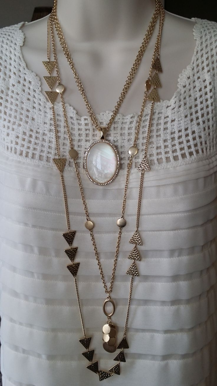 So feminine, so lovely! Avery doubled and surrounded by Your Way. Both necklaces can be worn several ways. So versatile!! See more at marciaward.mypremierdesigns.com