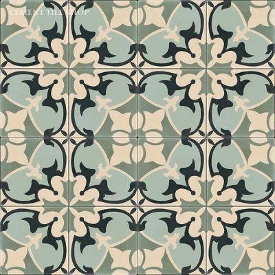 Sofia encaustic cement tile - cement tile shop