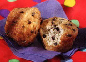 Betty Crocker's Bisquick Bannana Chocolate Chip muffins - we pretty much always have all of the ingredients on hand and it's a great use up for over ripe bananas - big hit with kids and adults.  This recipe is for full size muffins but we do ours as mini muffins.