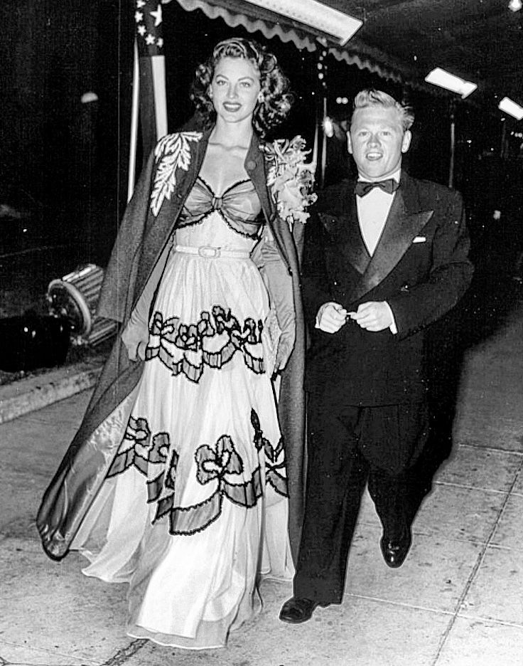 Ava Gardner Mickey Rooney They Always Were An Odd Couple To Me
