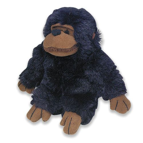 Look Who's Talking Chimp Dog Toy. More than your run of the mill plush toys, this cute chimpanzee talks when your pet squeezes them.