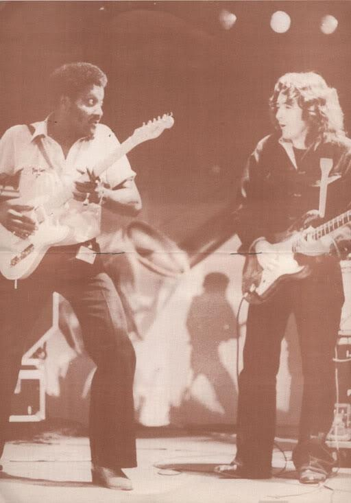 Albert Collins and Rory Gallagher 1983