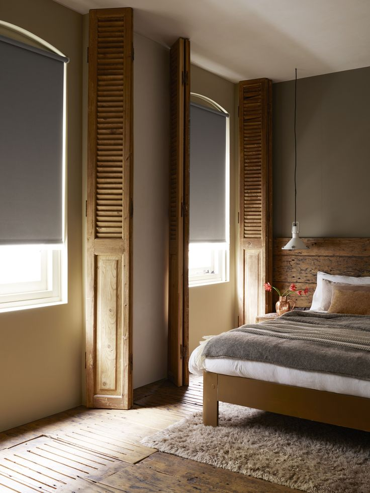 Room darkening shades--great for babies and naps!