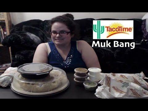 Vegetarian Taco Time Muk Bang