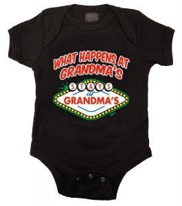 Kiditude - What Happens at Grandma's Onesie $16.95 Read more: http://www.kiditude.com/catalog/cool-baby-clothes/what-happens-at-grandmas-onesie-708.html