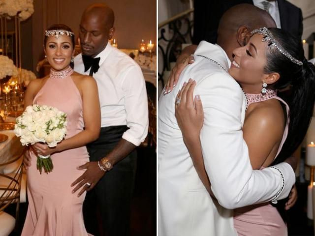Tyrese's New Wife Has Master's Degree, Makes Six Figures (PHOTO GALLERY)