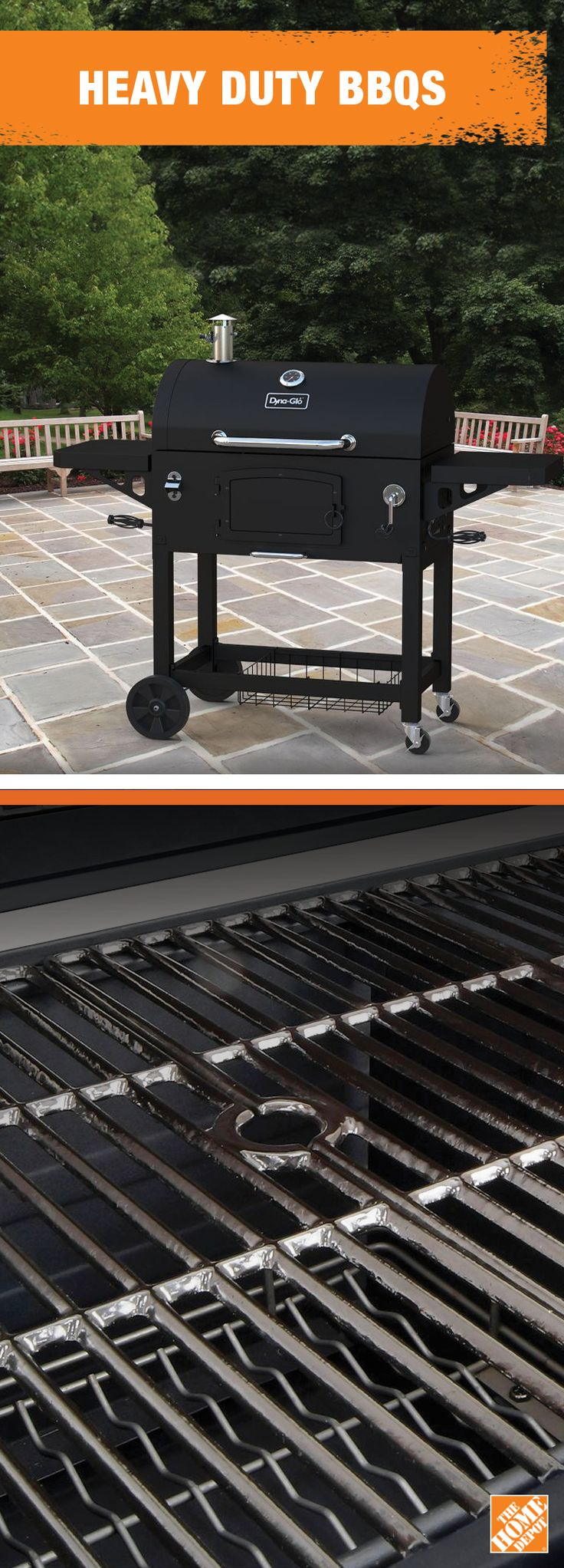 A #FathersDay gift for Dad is a gift for the whole family with this heavy-duty charcoal grill from Dyna-glo. Learn more at homedepot.ca: http://hdepot.ca/2rRqolO